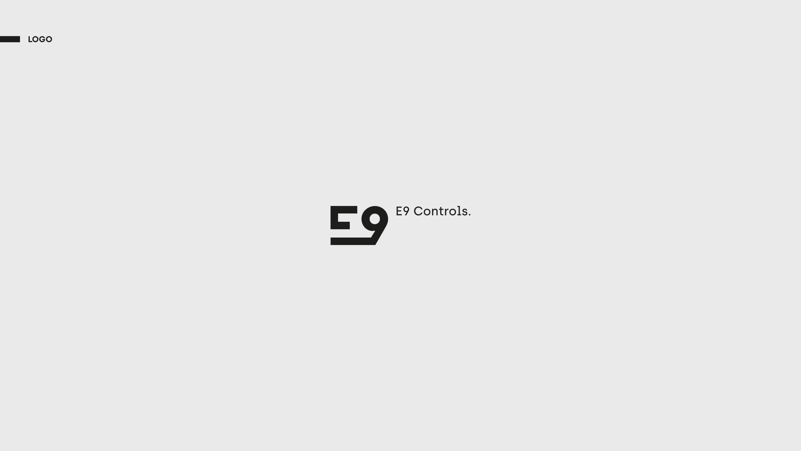 E9 Controls - Projekt logo