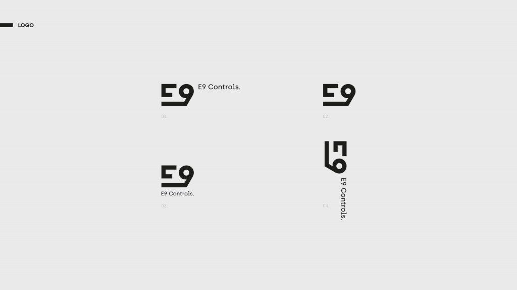E9 Controls - Projekt logotypu