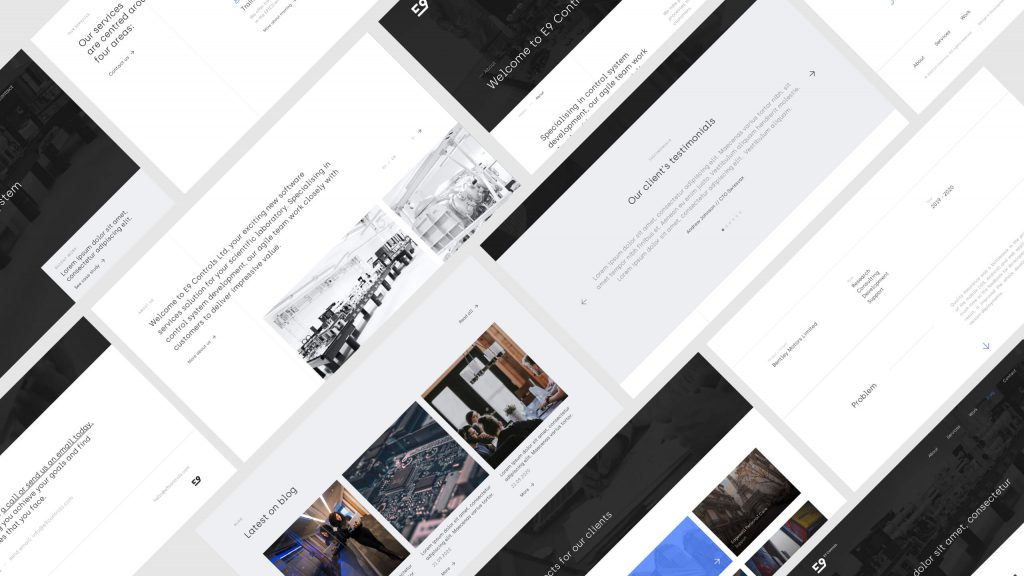 E9 Controls - Strona www firmowa