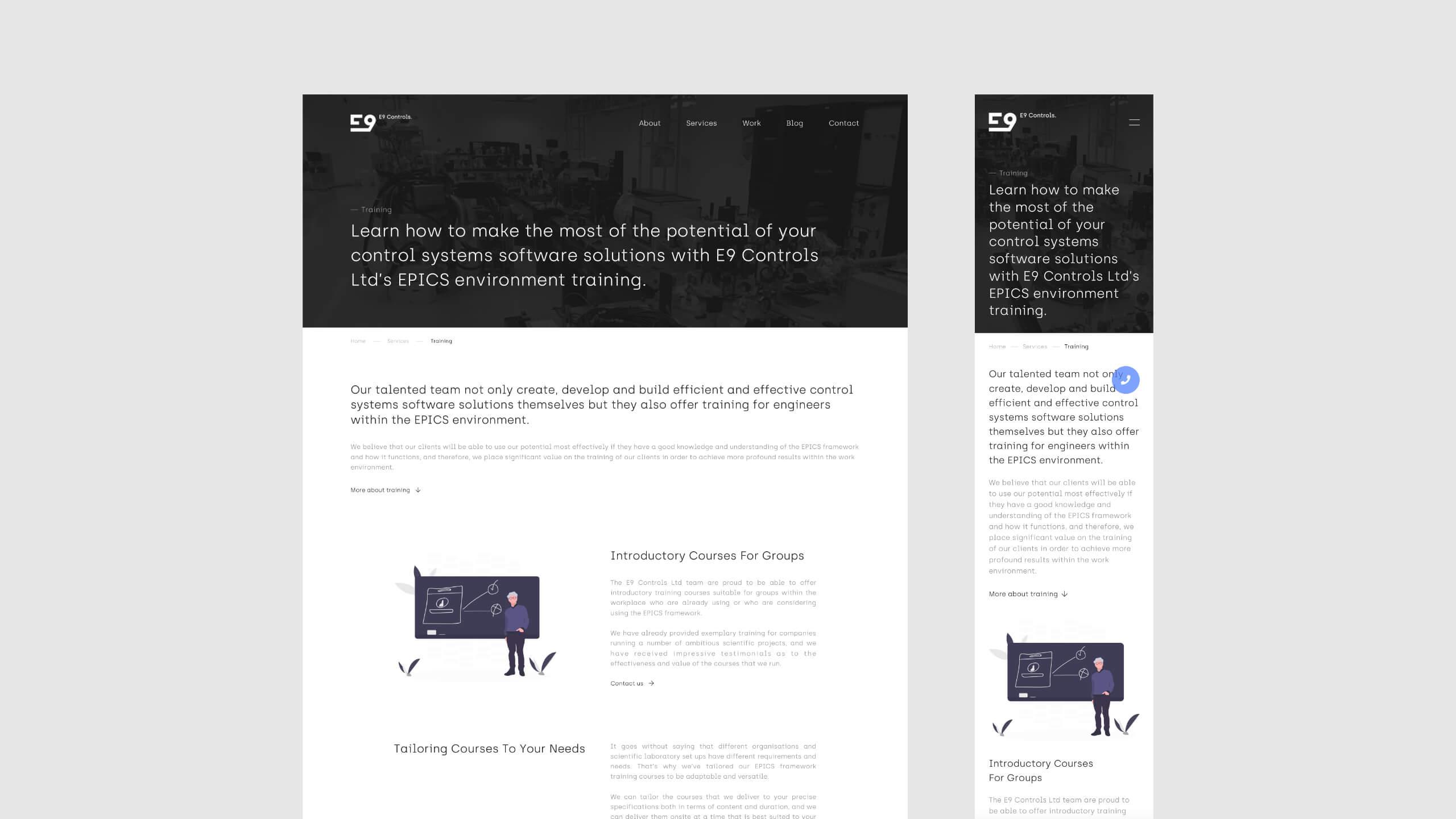 E9 Controls - Web Development & Web Design