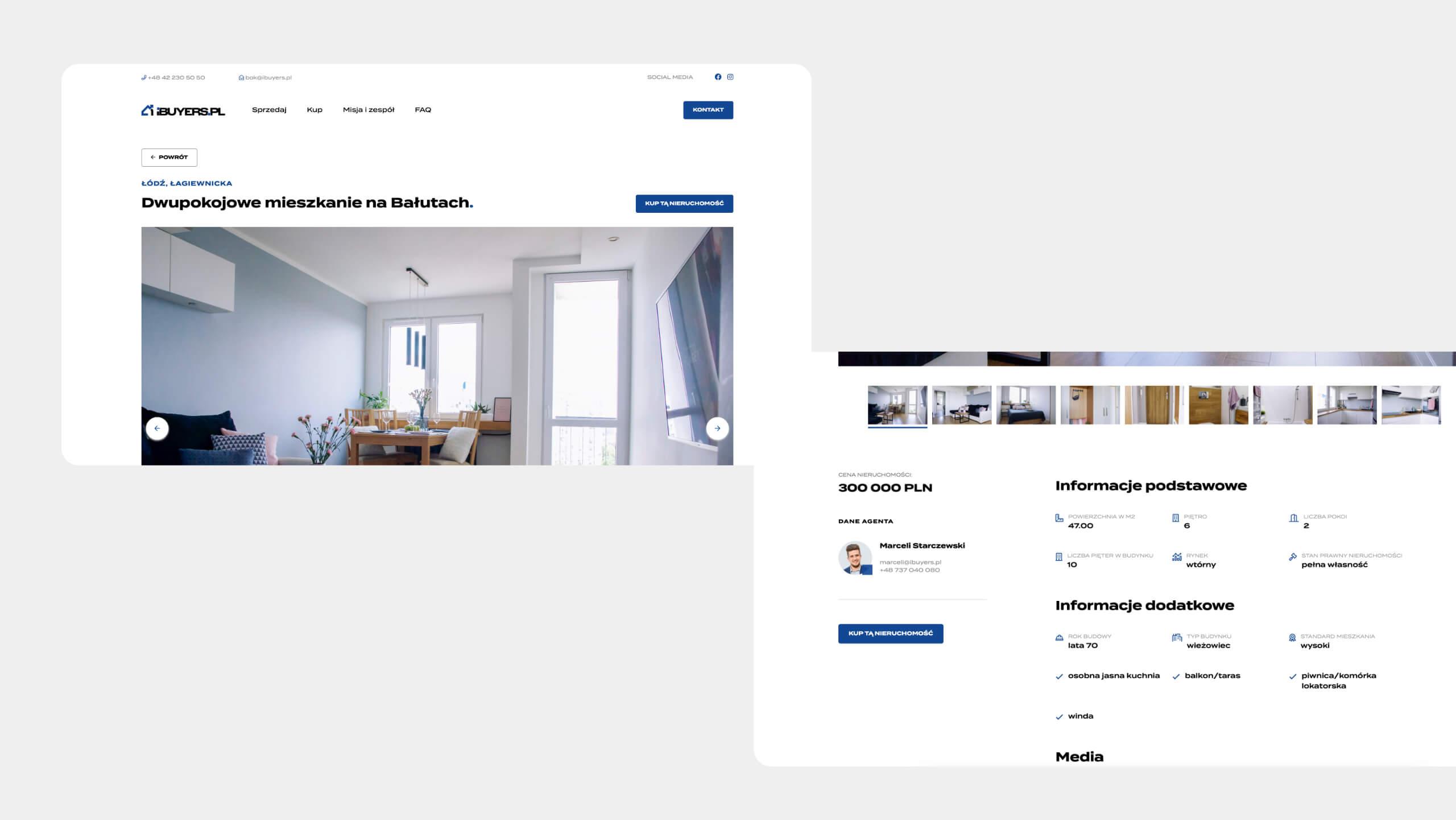 ibuyers.pl - aplikacja webowa
