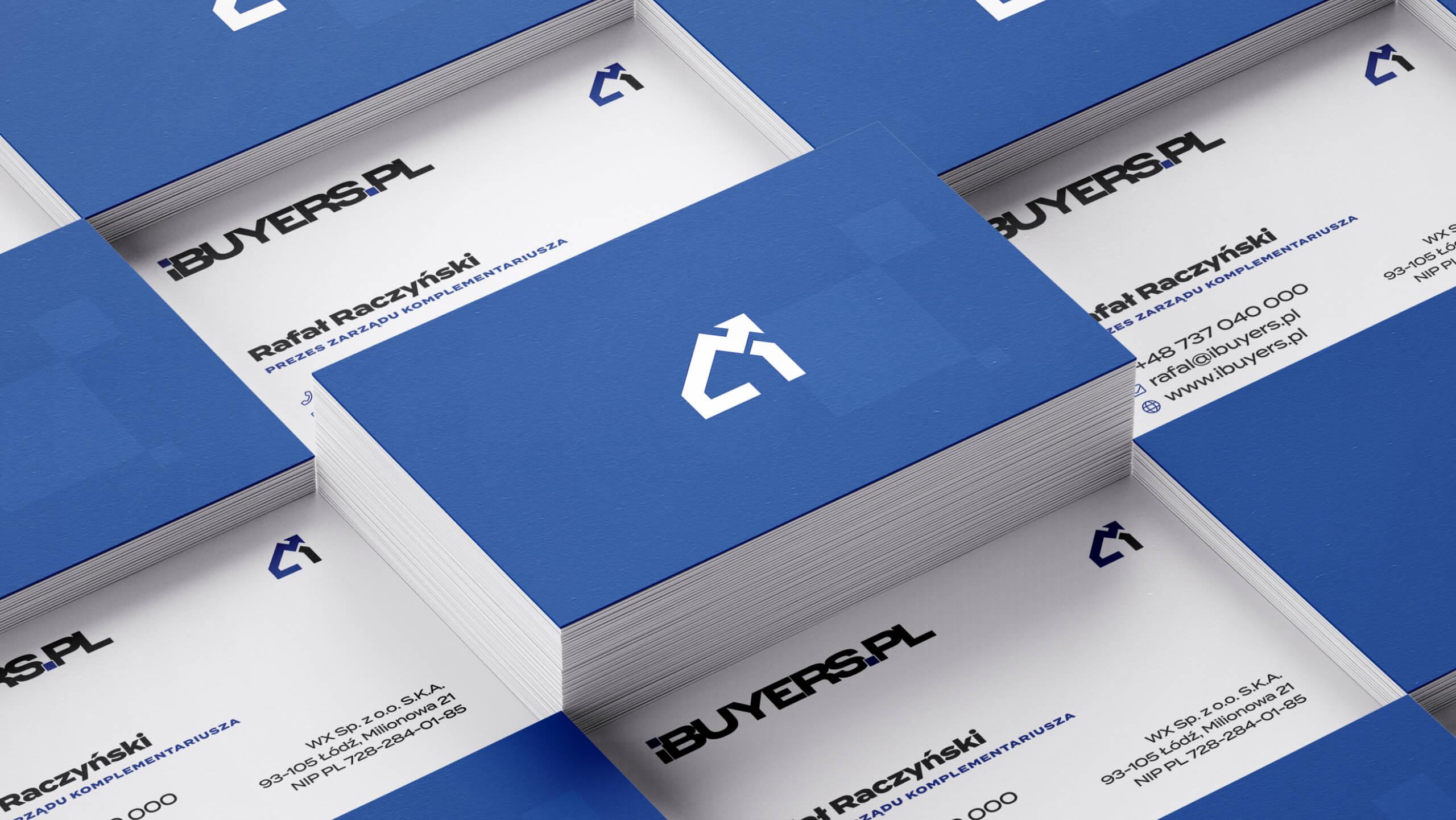 ibuyers.pl - projekt identyfikacji wizualnej