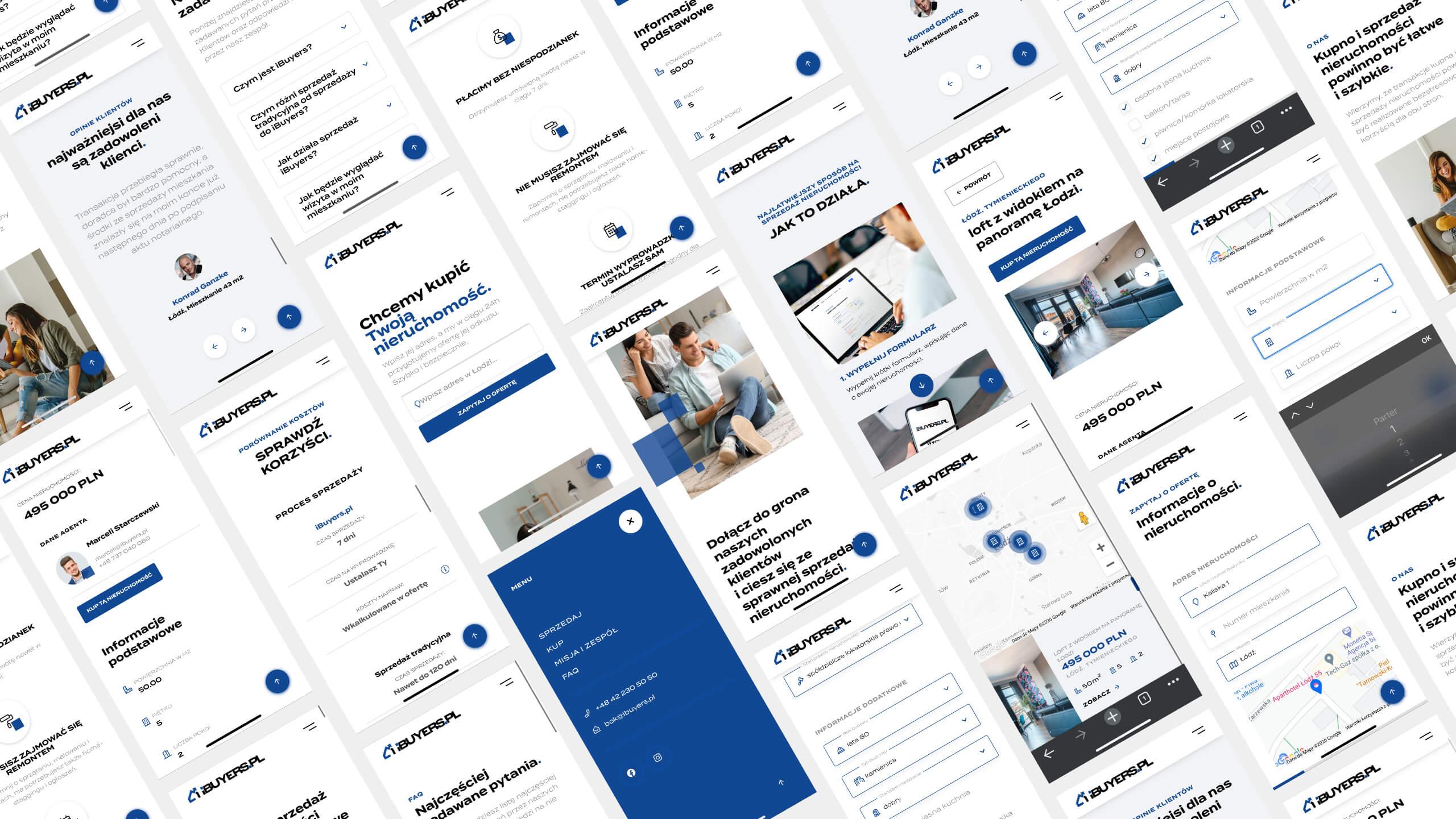 ibuyers.pl - mobilna aplikacja internetowa