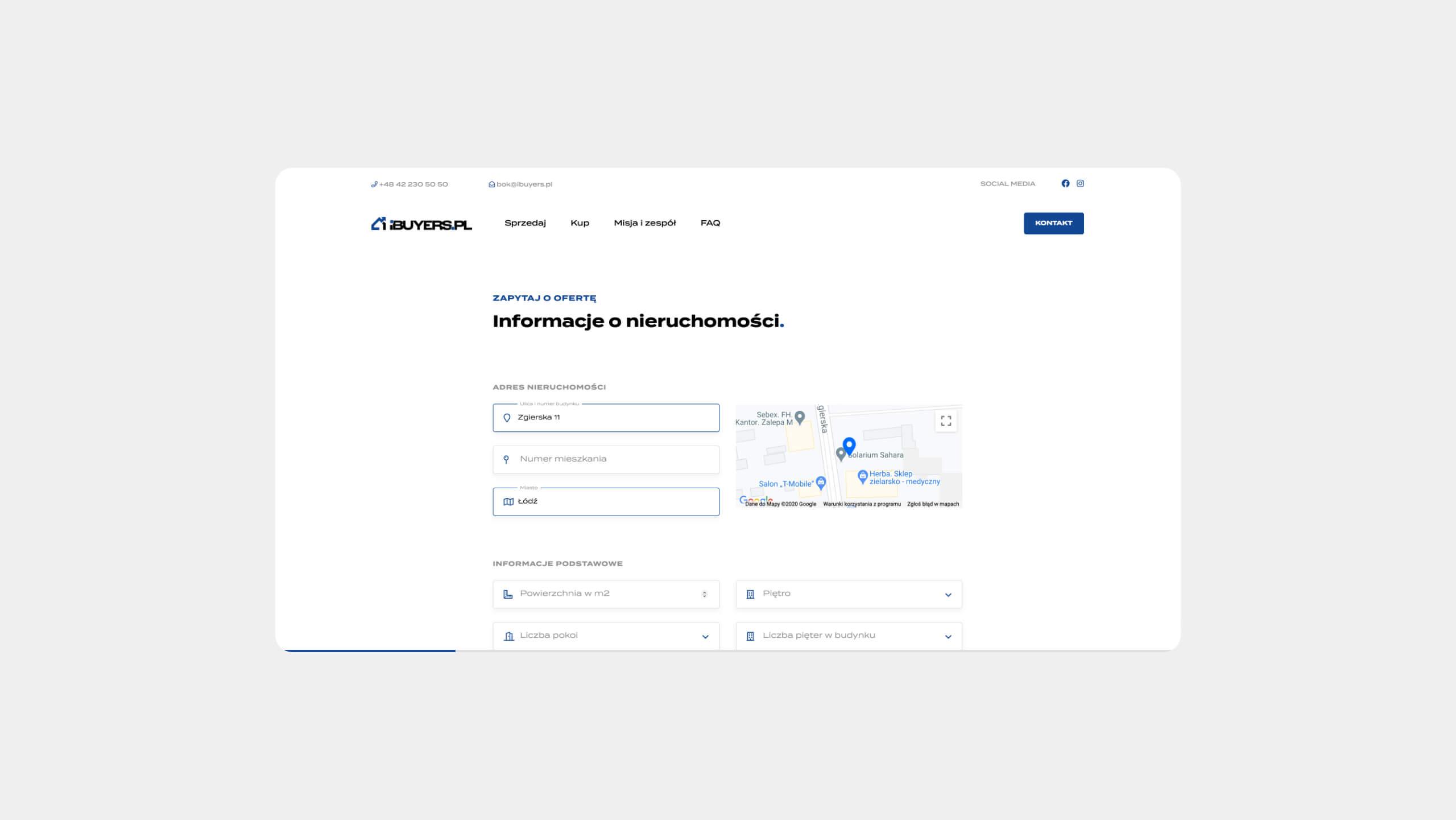ibuyers.pl - projekt aplikacji internetowej