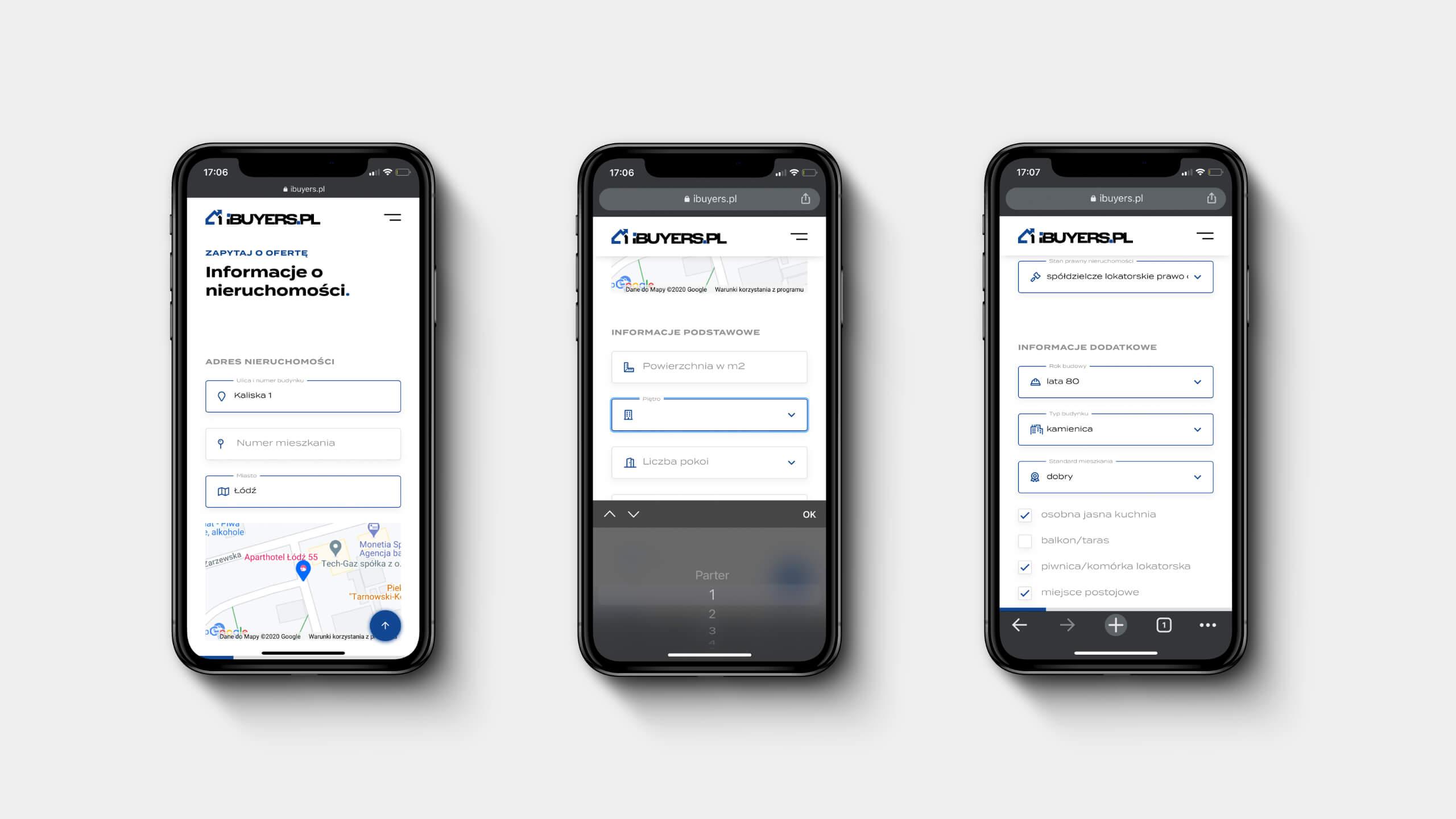 ibuyers.pl - responsywna aplikacja internetowa